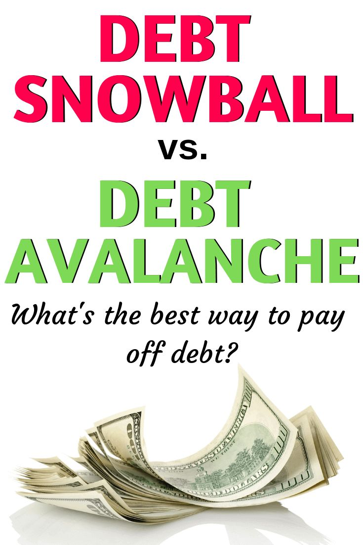 Debt snowball vs debt avalanche whats the best way to
