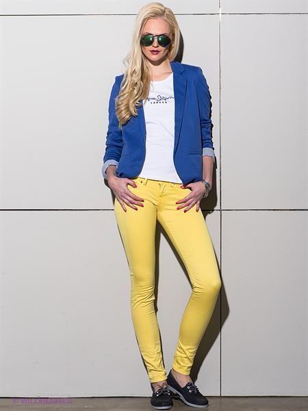 Желтые джинсы в минске