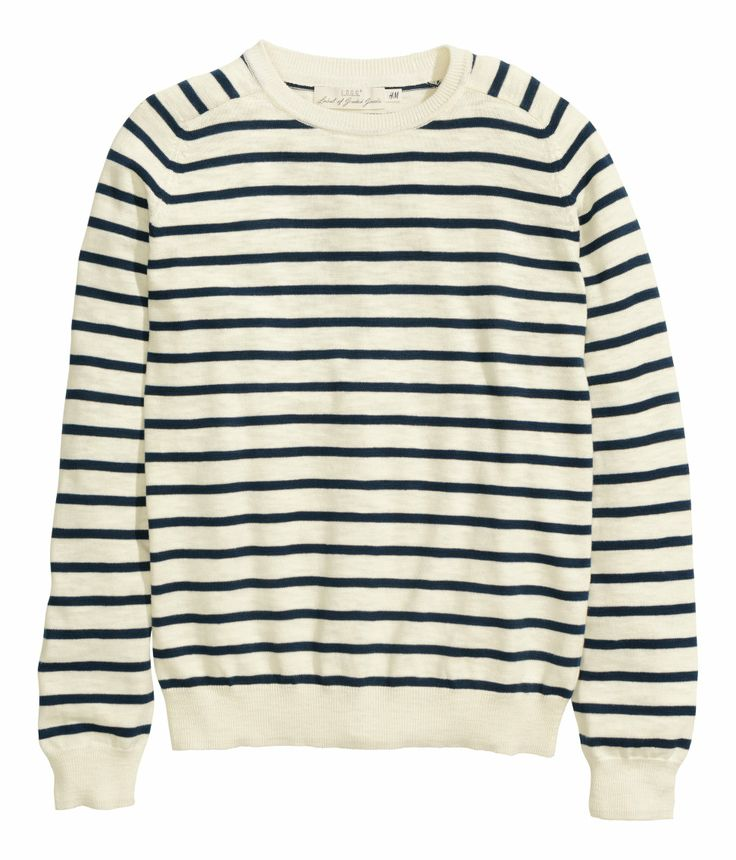 Perfect breton striped sweatshirt H&M Men