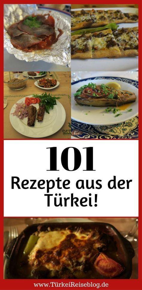 Hier findest Du 101 türkische Rezepte!