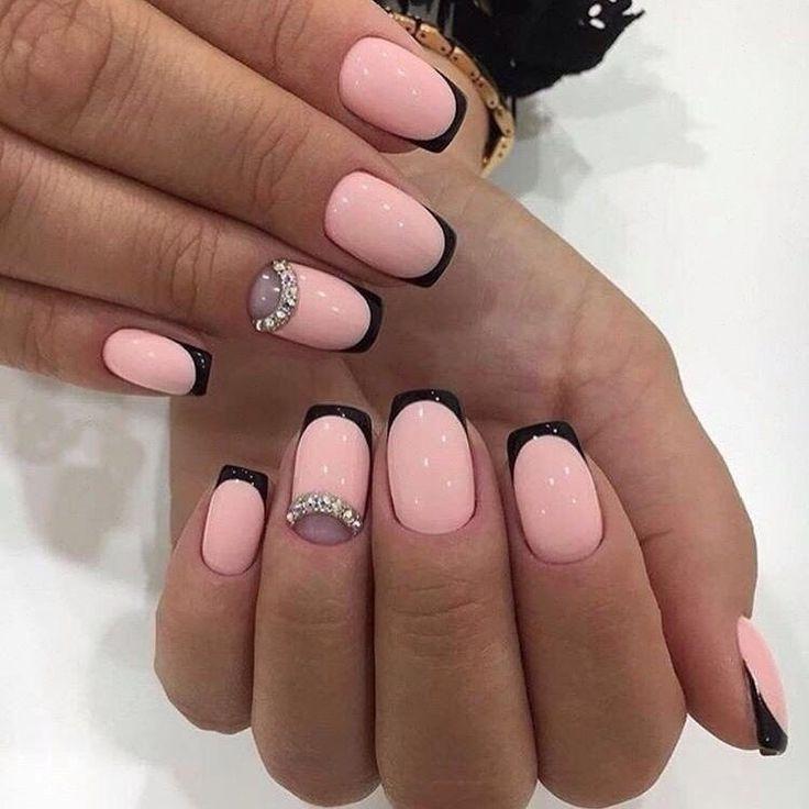 Beautiful delicate nails, Festive nails, Luxury nails, Medium nails, Modern nails, Original wedding nails, Romantic nails, Spring summer nails 2017