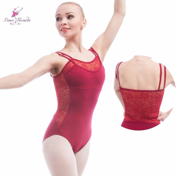 New Arrival Double Strap Camisole Ballet Leotard Cotton Spandex Gymnastic Wear