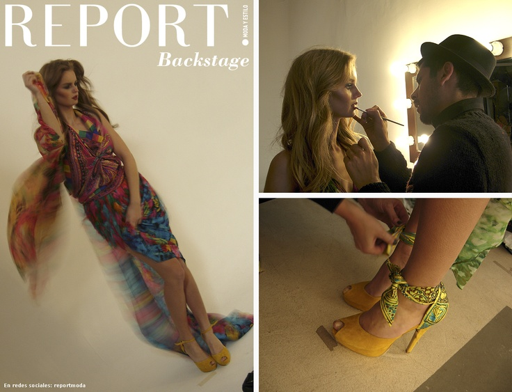 Backstage moda LA VIDA EN UN PAÑUELO - REPORT! Nº4 'Moda Verano 2013'