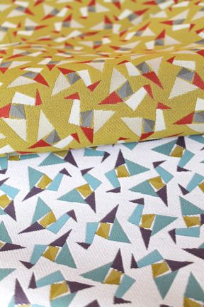 Wish - origami cranes inspired fabrics from Carnegie's Folds Collection