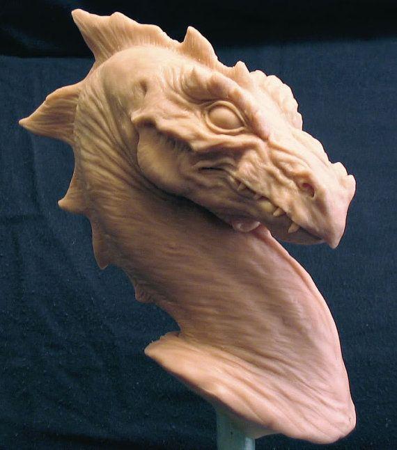 Pernese Dragon bust based on Anne McCaffrey's Dragon by Creaturae, $950.00
