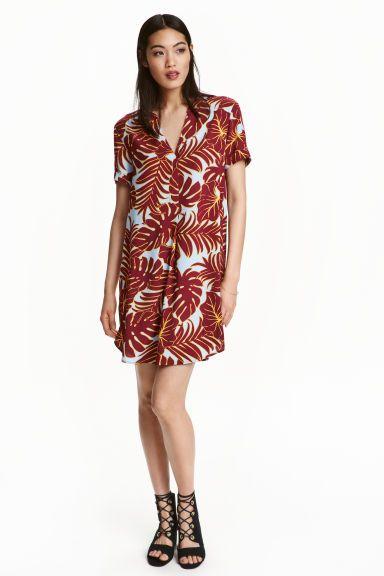 Patterned dress   H&M