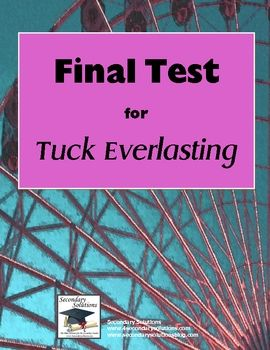 36 best images about Tuck Everlasting on Pinterest | Activities ...