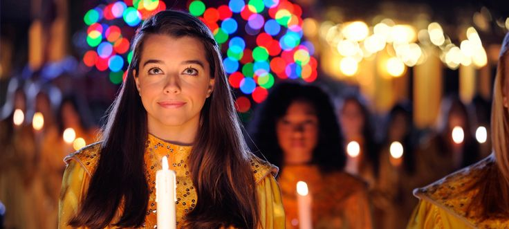 Disney World Candlelight Processional: a holiday offering at Epcot that combines traditional carols and seasonal music with the reading of the Biblical Christmas story by a celebrity narrator, accompanied by a mass choir and 50-piece orchestra.  WOW!  Disney does Nativity!  Who knew!