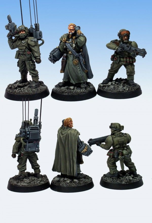 Forgeworld IMPERIAL GUARD CADIAN COMMAND HQ SQUAD, update