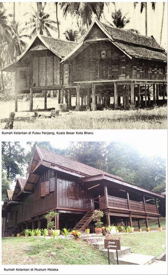 PERSATUAN PENCINTA SEJARAH KELANTAN: RUMAH TIANG 12 : Siri Binaan Bersejarah Kelantan