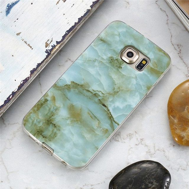 Marble Skin Case For Samsung Galaxy S8 Plus S7 S6 Edge S4 Soft Silicon Phone Cases For Samsung S8 Galaxy S7 S6 Cover S4