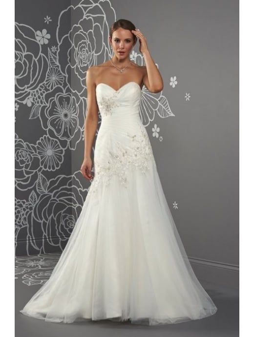 77 best A Line Style Wedding Dresses images on Pinterest | Short ...