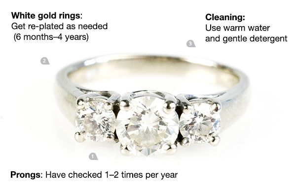 You might be ruining your engagement ring by accident: here's how to care for it
