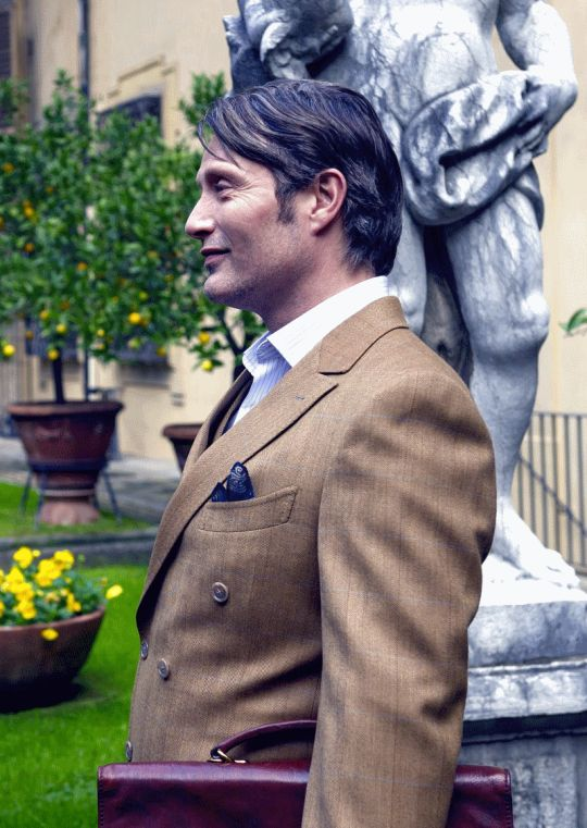 The Cannibal Concierge, Hannibal, season 3, episode 1.  Mads Mikkelsen.