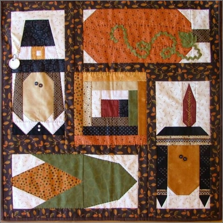 1000 Images About Thanksgiving Quilts And Crafts On Pinterest