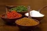Bayou Blast (Essence of Emeril) •2 1/2 tbsp paprika •2 tbsp salt  •2 tbsp garlic powder  •1 tbsp black pepper  •1 tbsp onion powder  •1 tbsp cayenne pepper  •1 tbsp dried oregano  •1 tbsp dried thyme  •Combine ingredients and store in an airtight container.