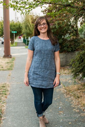 Perfect Fall Tunic | Indiesew.com