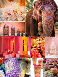 Moroccan Wedding..  Love this theme because it can be fused with an Indian themed wedding so well due to the bright vivid colors.