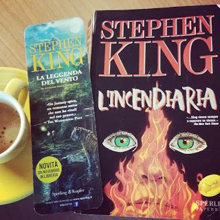 "Tra le righe: essenza di libri: Recensione: ""L'incendiaria"" di Stephen King"