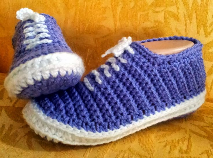 "OMG how cute are these! Shush's Handmade Stuff: ""Vans"" - Crochet Slippers - PDF…"