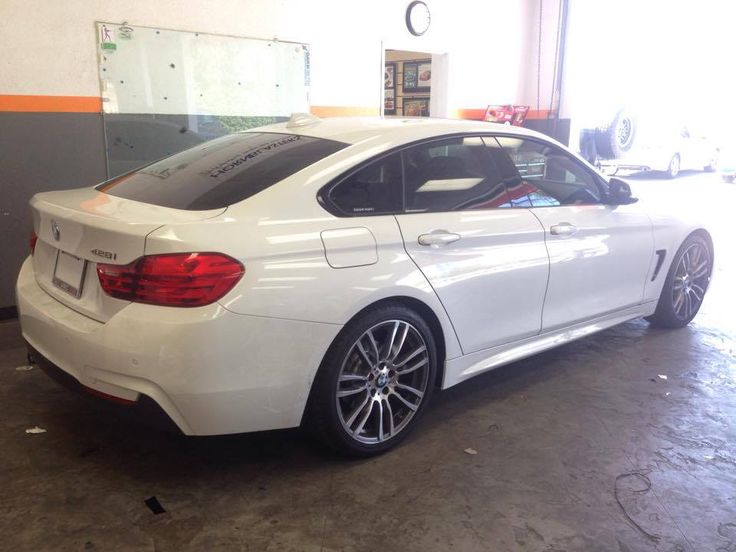 BMW 428 GranCoupe gets a cool looking 30 window tint all