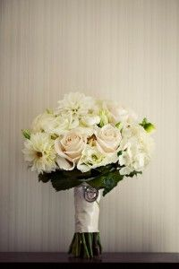 White Garden Bouquet | White Milk Glass | White Hob Nail | Riverhouse at Goodspeed Station Wedding | Planning by Ambiance | Paper by Admire Design