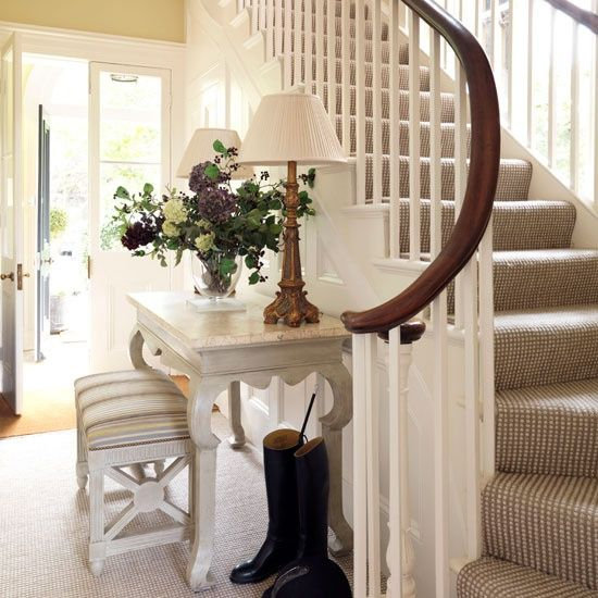 Love the carpet on the stairs South Shore Decorating Blog: Wordless Wednesday with Lots of Eye Candy!