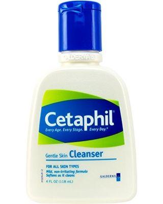 Cetaphil Cetaphil Gentle Skin Cleanser for All Skin Types, Face Wash for Sensitive Skin, 4-oz. Bottles (Pack of 3) from Amazon | ShapeShop