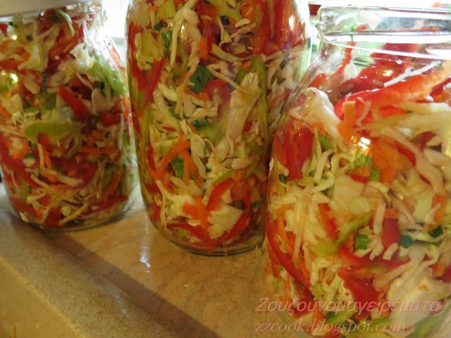 Ζουζουνομαγειρέματα: Τουρσί Ουγγαρέζα σαλάτα!