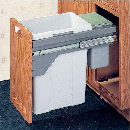 kitchen trash bins | Moderen kitchen garbage containers - Modern Kitchen Garbage Cans - D&S ...