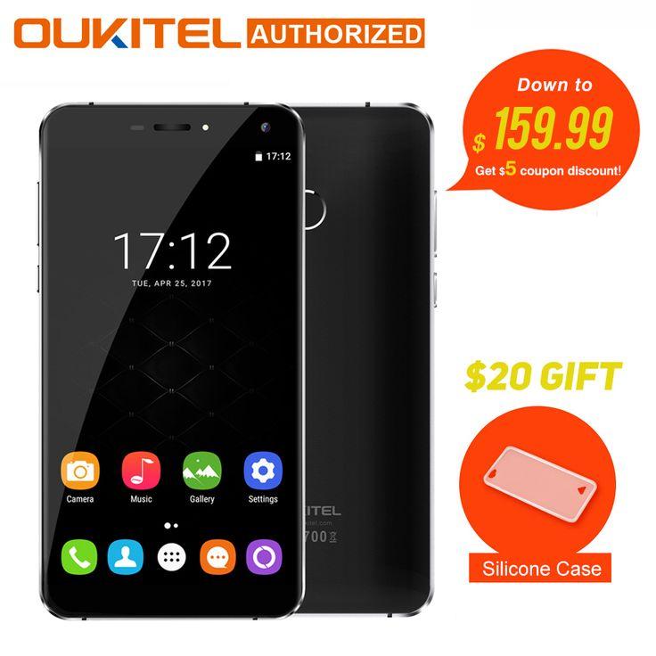 ">> Click to Buy << Original Oukitel U11 Plus Android 7.0 Moblie Phone 5.7""FHD Octa Core 4GB RAM 64GB ROM MTK6750T 13.0MP 3700mAh Fingerprint Phone #Affiliate"