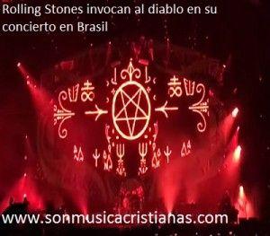 Rolling Stones invocan al diablo en su concierto en Brasil – Noticias Cristianas
