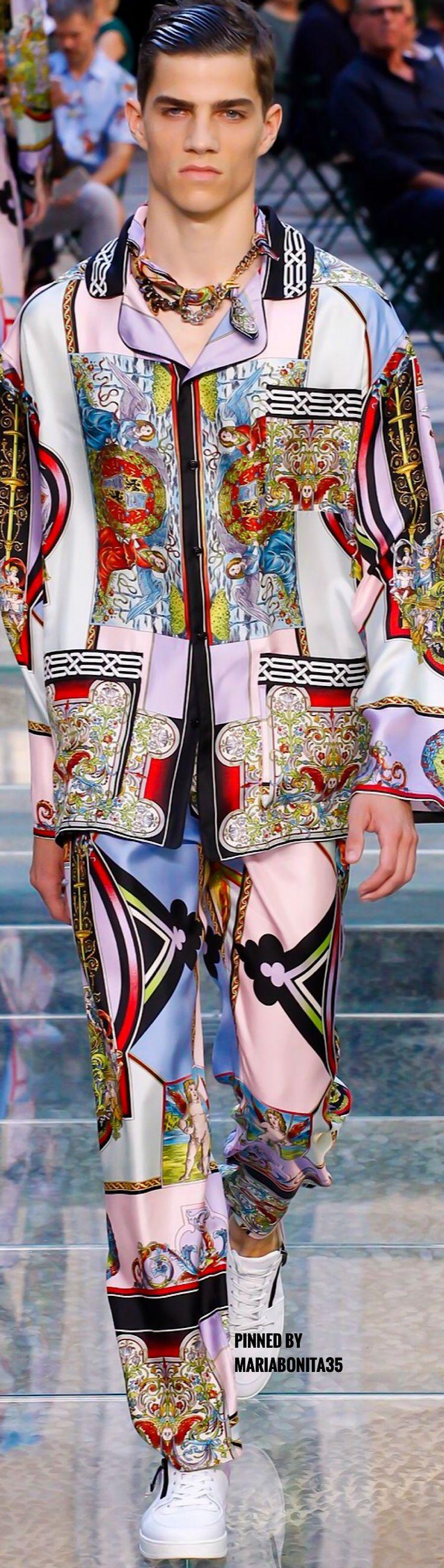 www.2locos.com  Versace SS18 Menswear