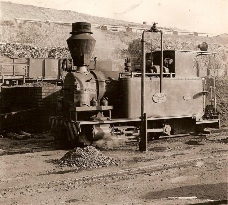 old STEAM LOCOMOTIVES in South Africa: RENISHAW Sugar Estate: Renishaw No 2 - Avonside 1986/1926