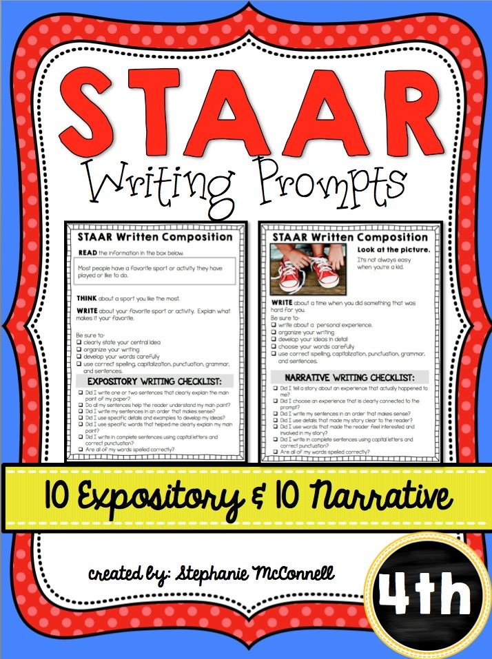 4th grade writing prompts common core