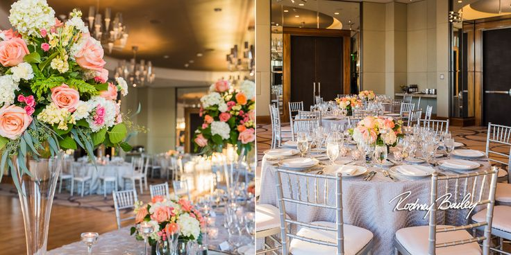 Decor And Flowers Four Seasons Hotel Wedding Baltiomore Maryland