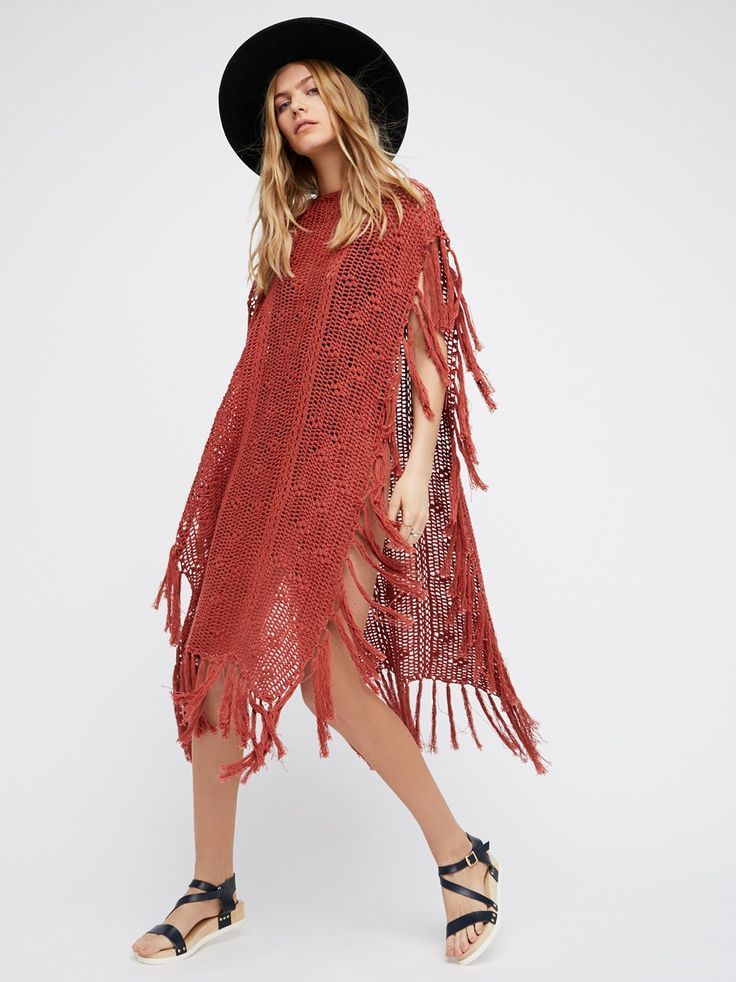 Without Borders Crochet Kaftan at Free People Clothing Boutique