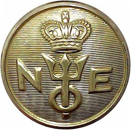Royal Greek Yacht Club 23mm Gilt Yacht or Boat Club jacket button