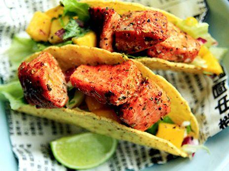 Tacolax med mangosalsa | Recept.nu