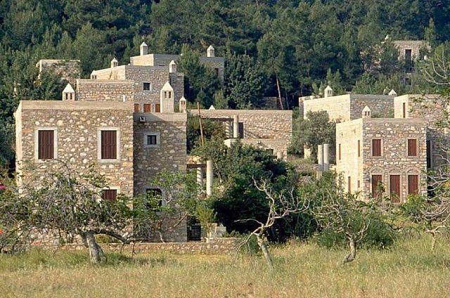 Turgut Cansever'in tasarladığı 1992 Ağa Han Ödül'üne layık görülen tatil köyü projesi
