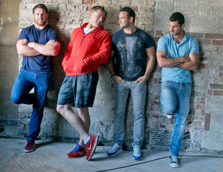 The Bridge: Sean O'Brien, Jamie Heaslip, Dave Kearney, Rob Kearney