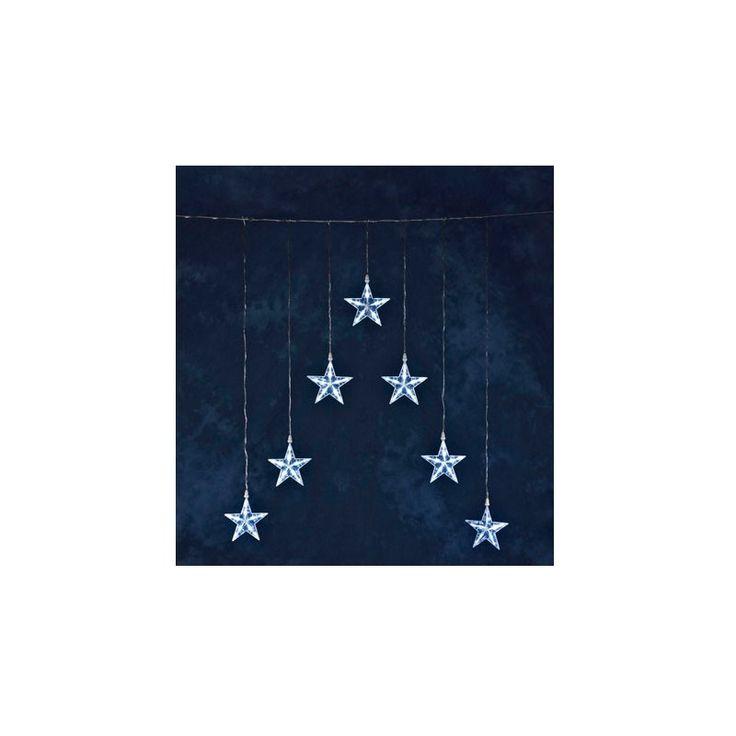 #Lichtervorhänge #Konstsmide #1243-203   Konstsmide 1243-203 Dekorative Beleuchtung  75x116, kabel transparentKonstsmide LED-Lichtervorhang mit 7 Sternen w.    Hier klicken, um weiterzulesen.  Ihr Onlineshop in #Zürich #Bern #Basel #Genf #St.Gallen