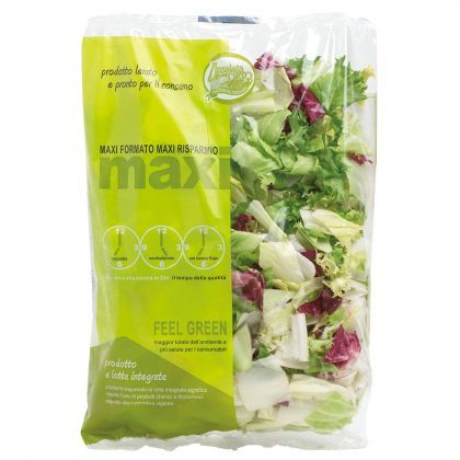 mixed salad, insalata mista #salad #packaging #design
