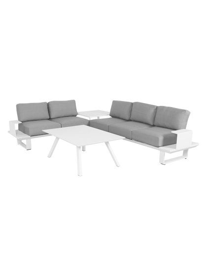 santa monica outdoor lounge set 4 pc by pangea home at gilt