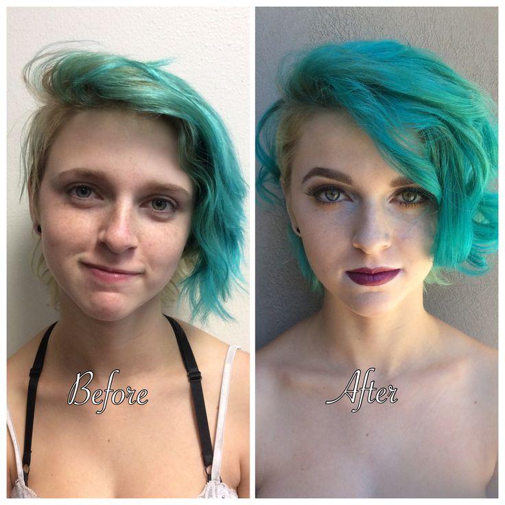 Advanced makeup academy- Fashion editorial makeup