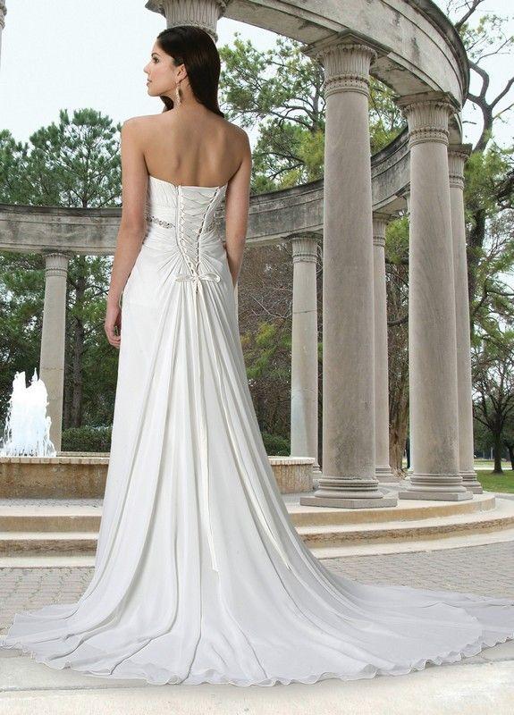 Da vinci 50056 wedding dresses destination wedding for Destination plus size wedding dresses