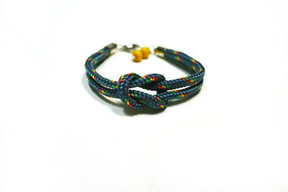 Climb rope bracelet.
