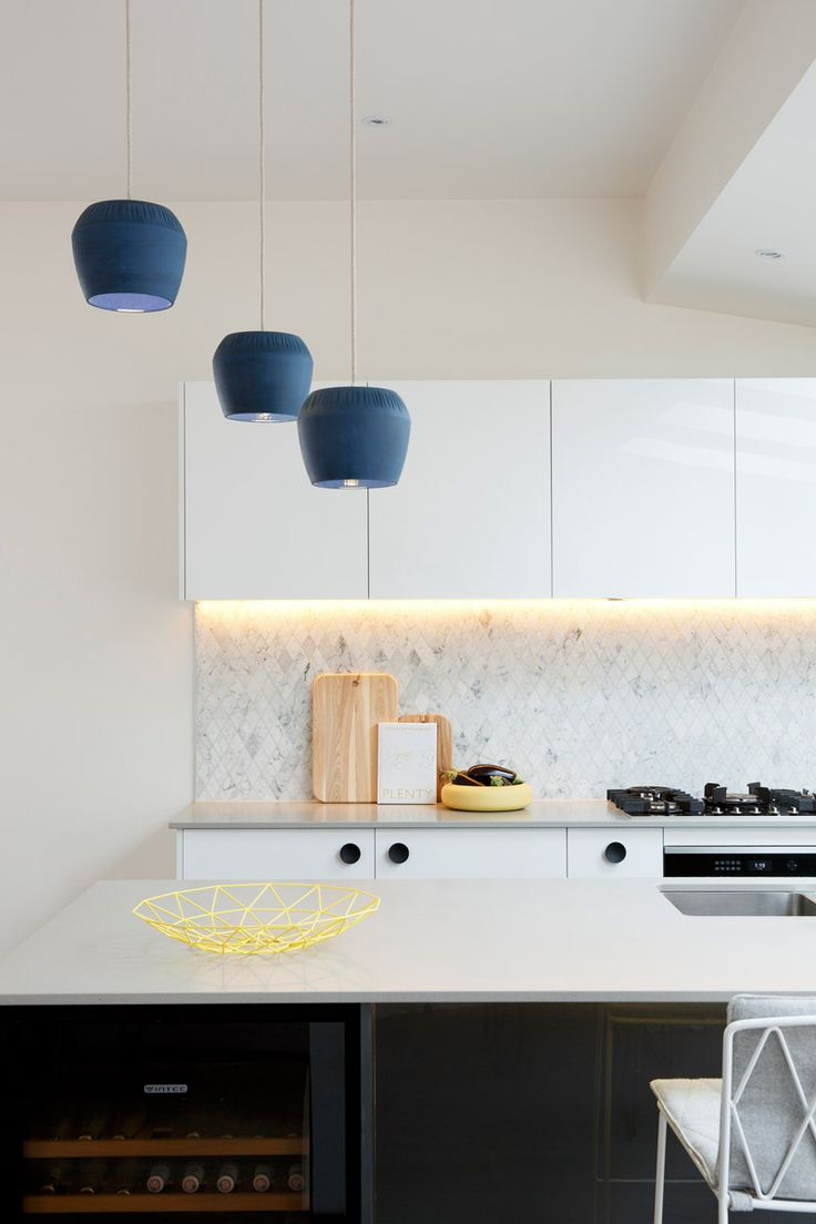 Carly Leighton Contemporary Art Deco Kitchen Freedom Kitchens Caesarstone Raw Concrete (4)