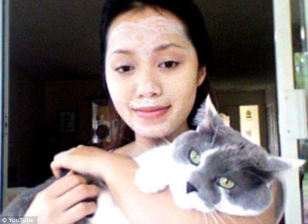 Michelle Phan DIY masque litière chat - Bizarrerie cosmétique - Blog beauté Les…