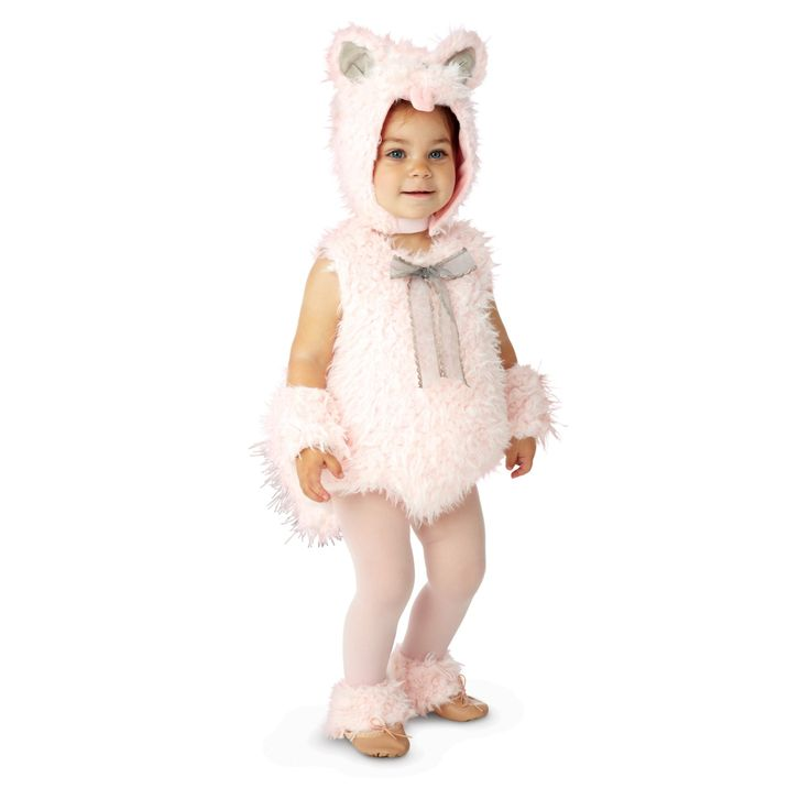 pink shaggy kitty infant toddler costume buy halloween - Where To Buy Infant Halloween Costumes